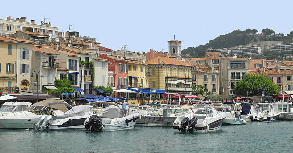 Provence: Cassis vom Cap Canaille