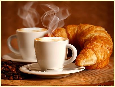 Französische Küche   Frühstück (petit Déjeuner)
