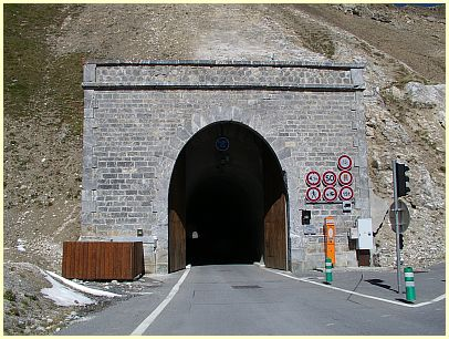 Tunnel des Col du Galibier