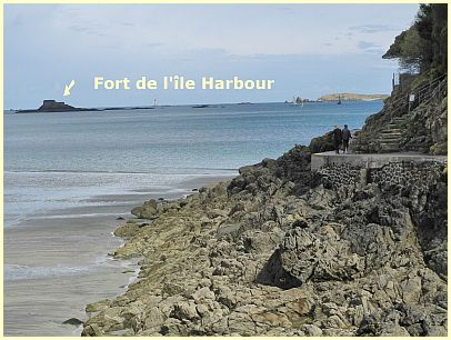 Pointe du Moulinet - Fort de l'île Harbour
