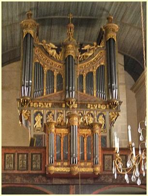 Saint-Thégonnec - Orgue (Orgel)