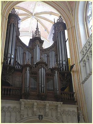 Orgel (Orgue) Kathedrale Saint-Corentin