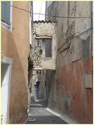 Gasse in Buis-les-Baronnies